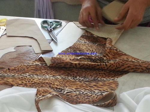 Cutting of Fabric Pieces