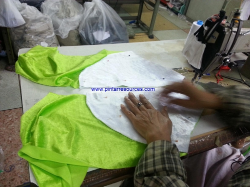 Sewing a Frog Costume