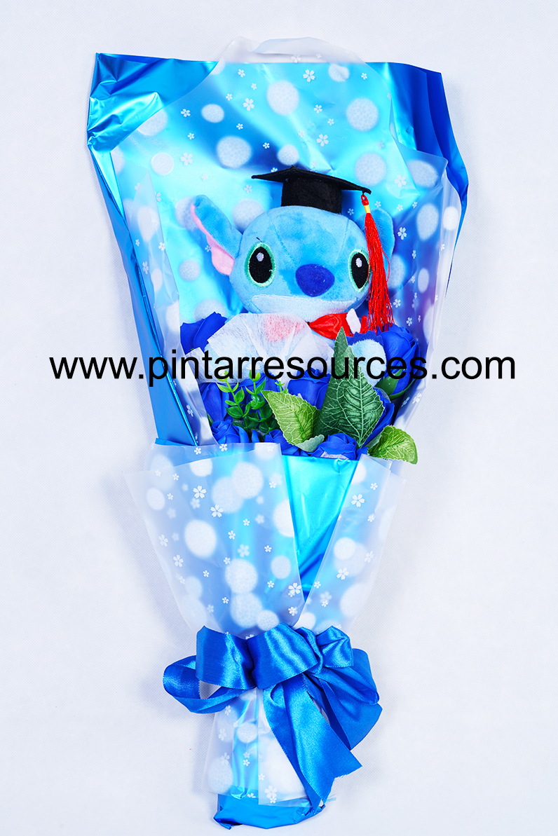 Graduation Stich Bouquet