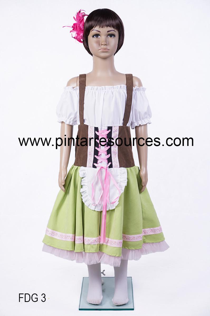 Folk Dance Girl 3