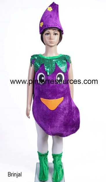 Vegetable, Fruit, Plant & Food Costumes